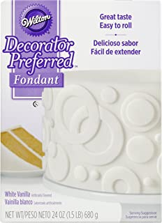 Decorator Preferred Fondant - 24-Ounce [680 Gram] - White - 710-2301