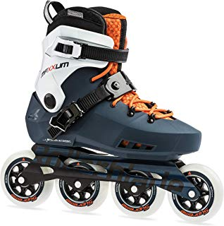 Rollerblade Maxxum Edge 90 Mens Adult Fitness Inline Skate, Sapphire and Orange, Premium Inline Skates