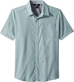 Volcom Kids Everett Oxford Short Sleeve Shirt (Big Kids)