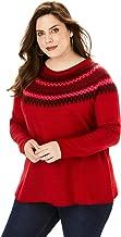 Best plus size fair isle sweater Reviews
