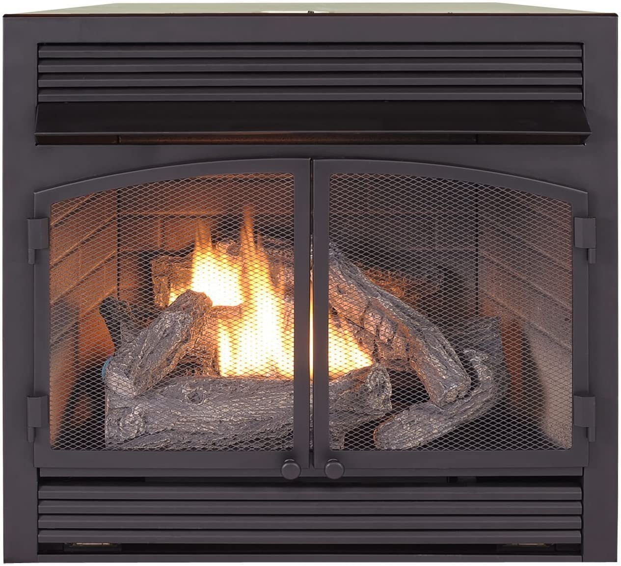 Duluth Forge Dual Fuel Ventless Insert-32 OFFicial 000 Max 73% OFF Rem BTU Fireplace