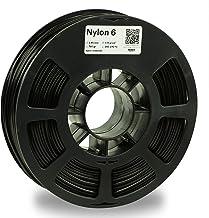 KODAK 3D printer filament NYLON 6 BLACK color, +/- 0.03 mm, 750g (1.6lbs) Spool, 2.85 mm. Lowest moisture premium filament...