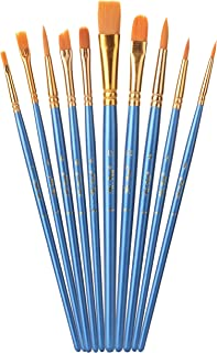 Mr. Pen- Paint Brushes, 10pc, Paint Brushes for Acrylic Painting, Art Brushes, Drawing and Art Supplies, Paint Brush, Acry...