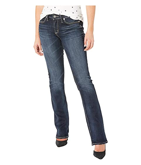 ad5c84c90cd Silver Jeans Co. Elyse Mid-Rise Curvy Fit Slim Boot Jeans in Indigo  L03601SSX305
