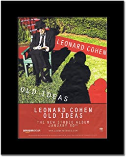 Music Ad World Leonard Cohen - Old Ideas Mini Poster - 28.5x21cm