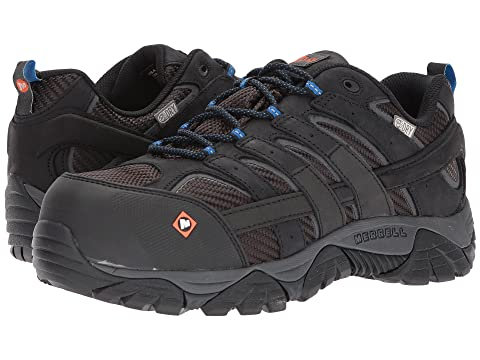 5af4693a236f1 Merrell Work Moab 2 Vent Waterproof CT at Zappos.com