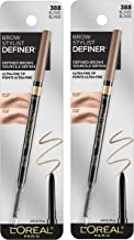 L'Oreal Paris Makeup Brow Stylist Definer Waterproof Eyebrow Pencil, Ultra-Fine Mechanical Pencil, Draws Tiny Brow Hairs &...