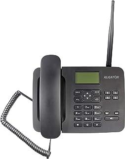 ALIGATOR T100 Telefon, Svart