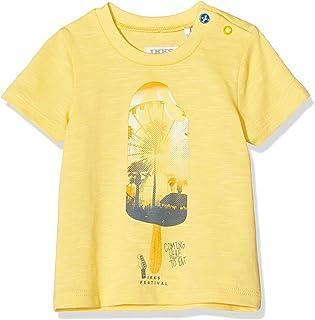 IKKS Junior tee-Shirt Jaune Glace Camiseta para Bebés