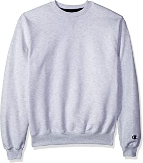 Champion Men's Cotton Max Fleece Crew Sweatshirt