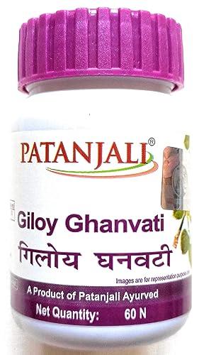 Patanjali Giloy Ghanvati-60 tab to incre…