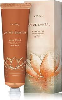 Thymes - Lotus Santal Hand Crème - Deeply Moisturizing Cream with Warm Sandalwood Scent - 3 oz