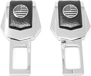 Premium Car Accessory | American USA Flag | (2 Pack)