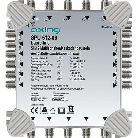 Axing Spu 512 06 Multischalter 5 In 12 Elektronik