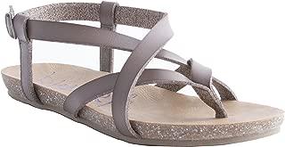 Best grey flat sandals Reviews