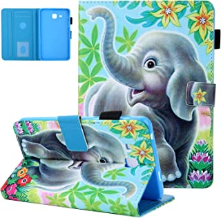 Case for Samsung Galaxy Tab A 7.0, T280 Case,UGOcase PU Leather Lightweight Anti-Slip Stand Cover Wallet Case with Card/C...