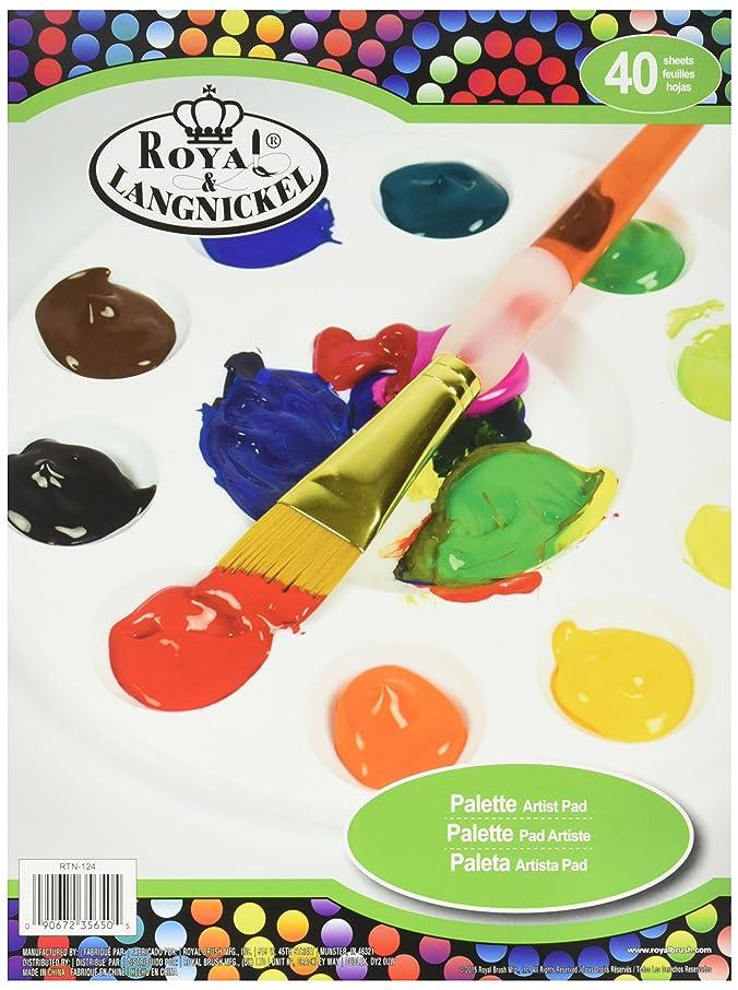 ROYAL BRUSH RTN-124 40 Sheets Palette Artist Pad 9