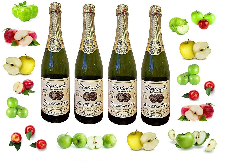Martinelli Non-Alcoholic Sparkling Cider 750ML Fashion 5 popular Bottles 4 25.4Oz
