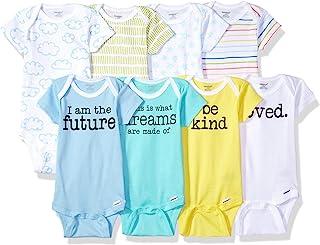 Onesies Brand Baby Boys' 8-Pack Short-Sleeve Bodysuit