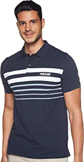 Timberland mens Millers River Placement Stripe YD Polo Reg Polo Shirt
