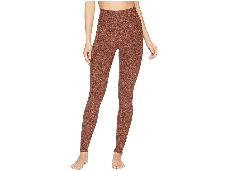 Beyond Yoga Spacedye Take Me Higher Long Leggings (Red Rock/Tumbleweed) Women