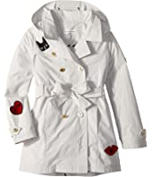 Sonia Rykiel Kids - Alara Trench Coat w/ Patch Detail (Big Kids)