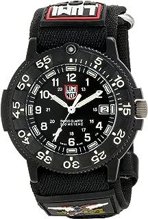 Luminox Men's A.3901 Navy Seal Faststrap 3900 Black Strap Watch
