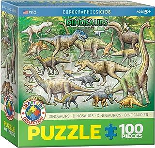 Eurographics - Dinosaurs 100-Piece Puzzle