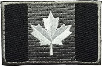SpaceCar Flag of Canada Canadian National The Maple Leaf Tactical Morale Embroidery Hook & Loop Ensign Patch 3