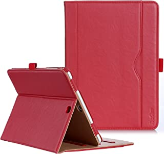 ProCase Galaxy Tab S2 9.7 Case - Leather Stand Folio Case Cover for Galaxy Tab S2 Tablet (9.7 inch, SM-T810 T815 T813) -Red