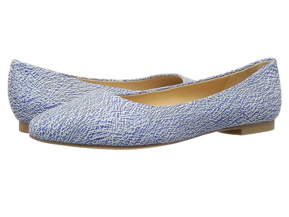 Trotters Estee (Blue Metallic Leather) Women