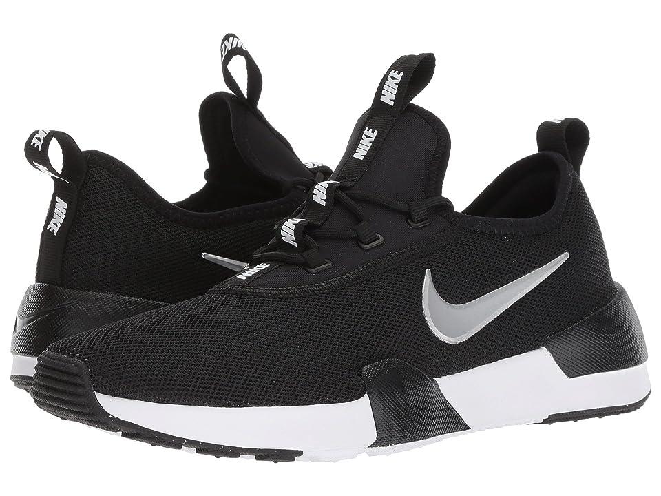Nike Kids Ashin Modern (Big Kid) (Black/Metallic Silver/White) Kids Shoes