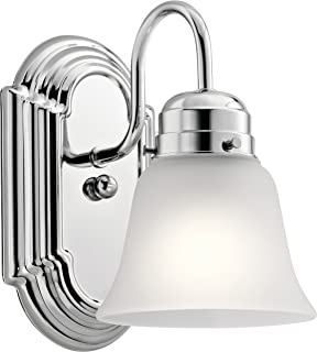 Kichler Lighting 5334CHS One Light Wall Sconce, Chrome
