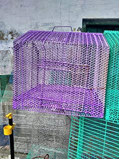 Purple Bird Cage for Birds(Set of 8)