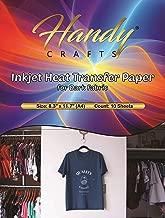 Inkjet Heat Transfer Paper for Dark Fabric, 8.3