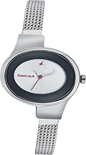 Women's Fashion-Casual Analog Watch-Quartz Mineral Dial - Leather/Silver Metal Strap