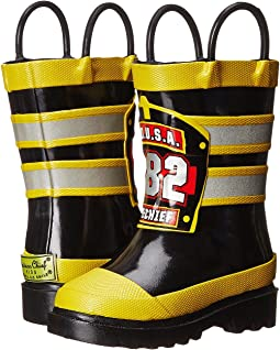 Western Chief Kids F.D.U.S.A. Firechief Rain Boot (Toddler/Little Kid/Big Kid)