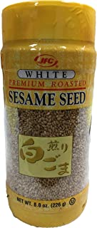 Premium Roasted Sesame Seed 8oz Kosher (White, 2 Piece)