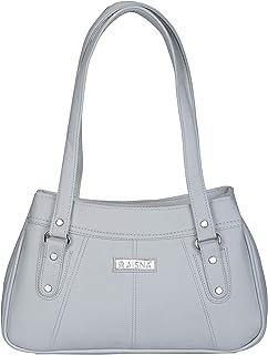 Aisna Women's Daisy Handbag(ASN-195)(Light Blue)