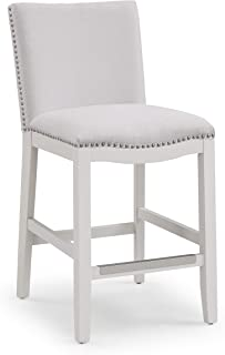 Source One Arissa Snow Stool Counter Chair,