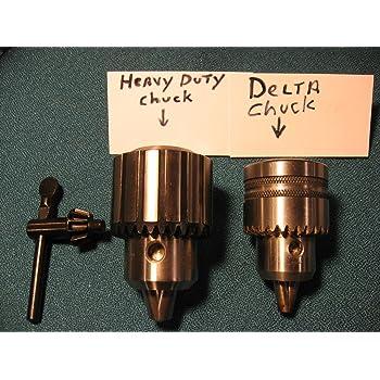 """BRAND NEW HEAVY DUTY 1//2/"""" DRILL CHUCK UPGRADE FOR DELTA MODEL 15-069 DRILL PRESS"""
