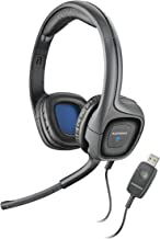 Plantronics Audio 655 USB Multimedia Headset with Noise Canceling Microphone for PC and Mac