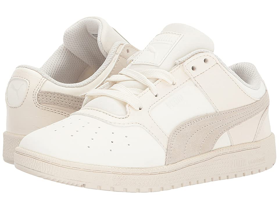 Puma Kids Sky II Lo Color Blocked (Little Kid/Big Kid) (Whisper White/Whisper White) Kids Shoes