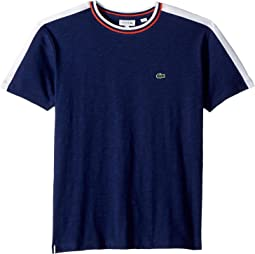 Lacoste Kids Colorblock Flamme T-shirt (Toddler/Little Kids/Big Kids)