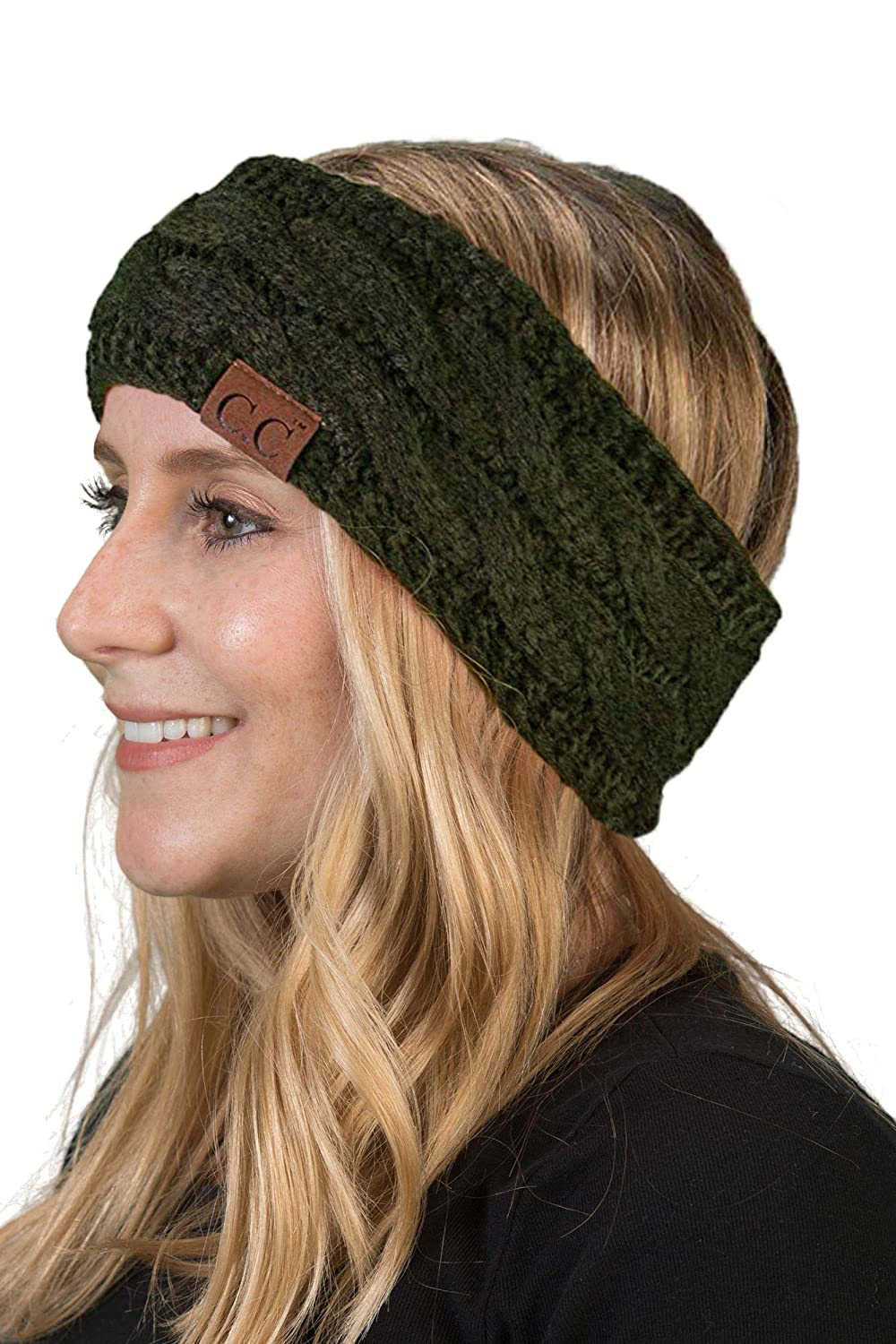 Solid Headwrap - Olive
