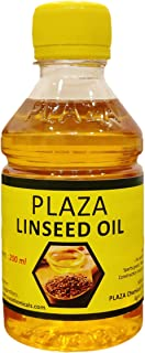 Plaza - Aceite puro de linaza - 200 ml (aceite de bate)