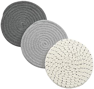 Handy in the kitchen or when serving hot dishes at the dinner table. Free Shipping Hot pads or pot holders VI