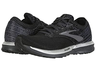 Brooks Ricochet (Black/Black/Ebony) Women