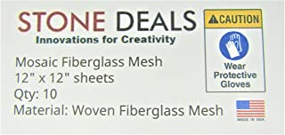 Stone Deals Mosaic Mesh for Back Mounted Tile 12