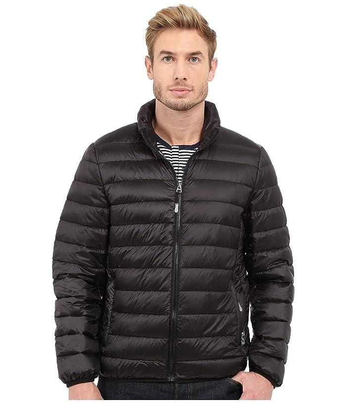 Tumi Patrol Packable Travel Puffer Jacket (Black) Men